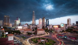Ho Chi Minh City In Storm