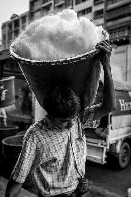 Ice merchant Yangon